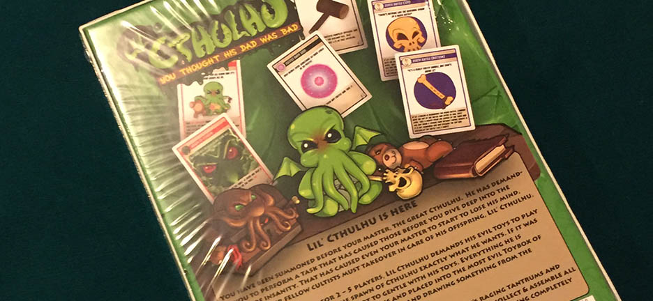 Lil Cthulhu Box Back