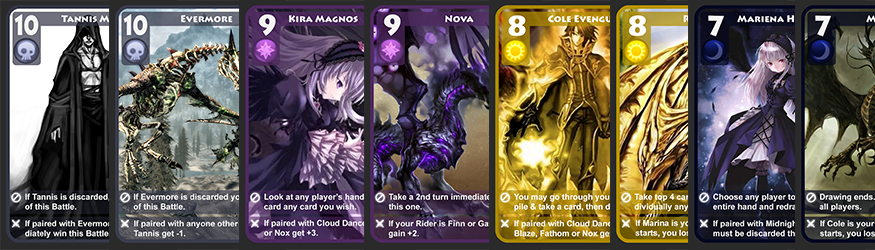Elementra Cards